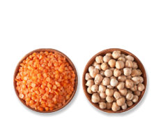 Lentils and Chickpeas